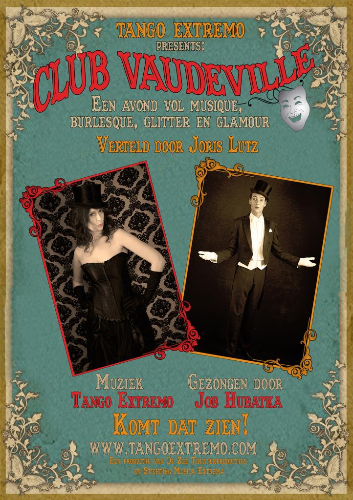 vaudeville Flyer voorkant WEB