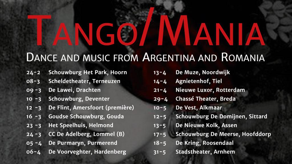 TangoMania speellijst